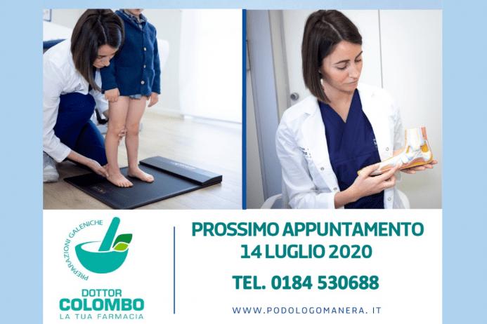 Prenota il tuo consulto podologico gratuito in farmacia a Sanremo.